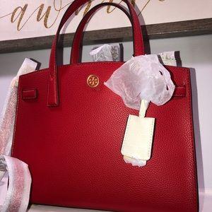 Tory Burch Walker small satchel